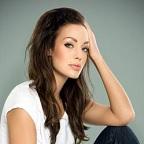 De foto van de lookalike en imitator van  Angelina Jolie