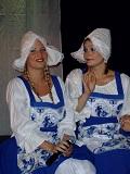 Een foto van Claire en Marjolein als de Hollandse Tijden Meiden