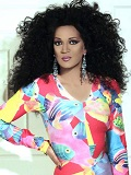 Een foto van de lookalike en imitator van  Diana Ross