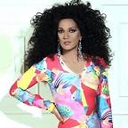 De foto van de lookalike en imitator van  Diana Ross