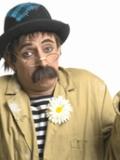 Een foto van de lookalike en imitator van Dorus