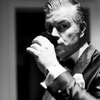 De foto van de lookalike en imitator van  George Clooney