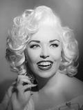 Een foto van de lookalike en imitator van  Marilyn Monroe
