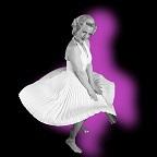 De foto van de lookalike en imitator van  Marilyn Monroe (41)