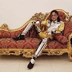 De foto van de lookalike en imitator van  Michael Jackson
