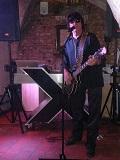 Een foto van de lookalike en imitator van Roy Orbison