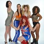 De foto van de lookalike en imitator van  Spice Girls