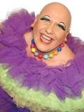 Een foto van de lookalike en imitator van  Sugar Lee Hooper