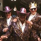 De foto van: Tom, Chiel en Harry als De Foppers